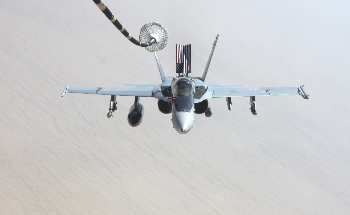 Pull A F/A-18C Hornet For A Good Cause