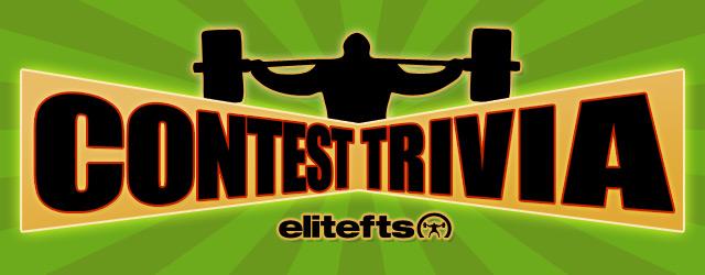 Elitefts™ Trivia Contest: Wanna Win Some Free elitefts™ Wrist Wraps?