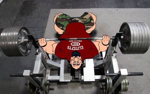 Image result for powerlifting bench press pic