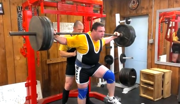Barbell Step-Ups