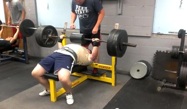Bench Press with Elitefts™ Shoulder Saver Pad