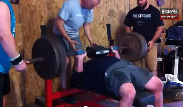 Elitefts™ Bench Press with Shoulder Saver & Fat Gripz