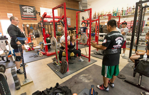 Monster garage gym what is right with powerlifting elite fts
