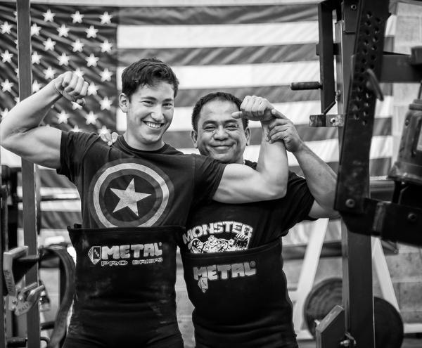 Powerlifting training monster garage gym youtube