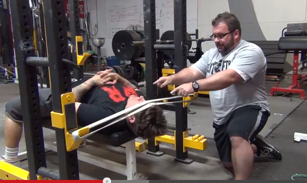 Elitefts™ Band Resisted Supine Neck Protrusion