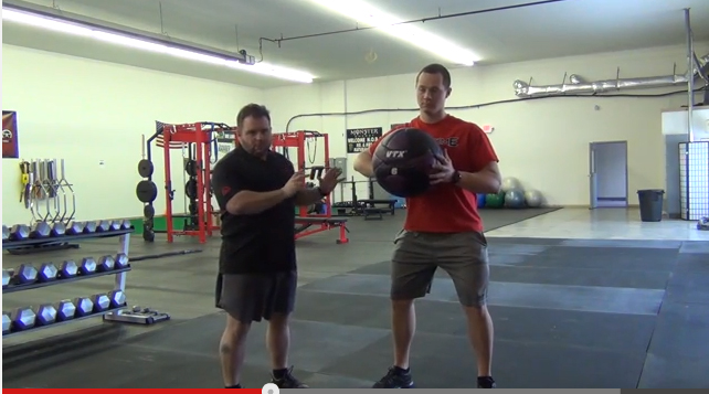 Elitefts™ Rotational Med Ball Throw with Variations