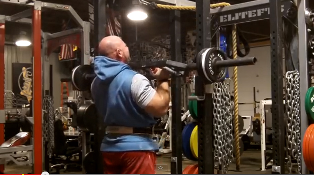 Elitefts™ Swiss Press Bar Cage Press with Fat Gripz™