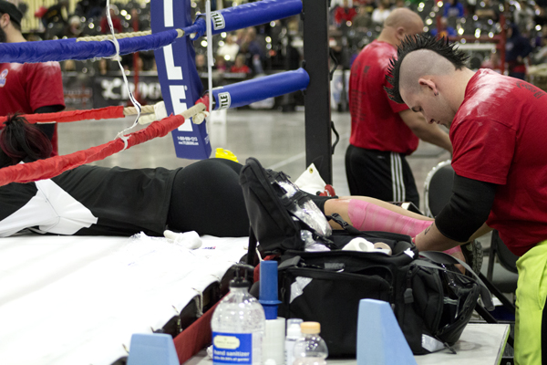 recovery fatigue arnold classic strongman competitor 032514
