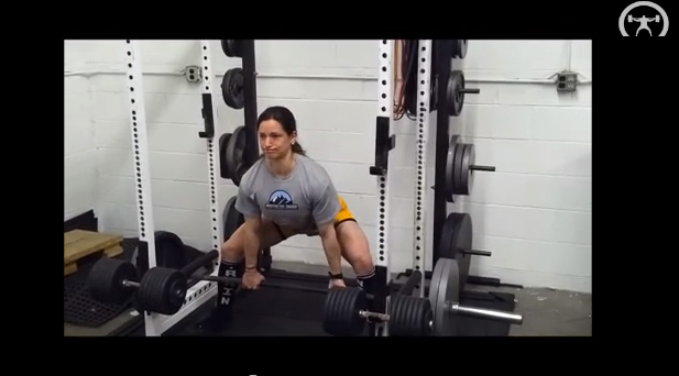 Isometric Sumo Deadlifts (Pulls against Pins)