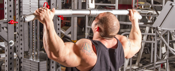 Blasting Back and Destroying Delts for the IFBB Stage