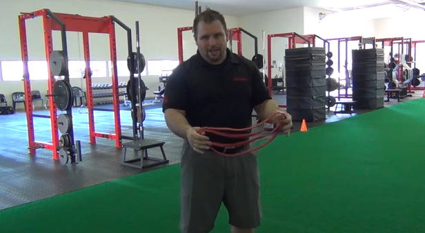 Elitefts™ Banded Squat Warm-Up Drills