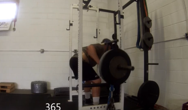 Rackable Cambered Bar Goodmornings with Chains