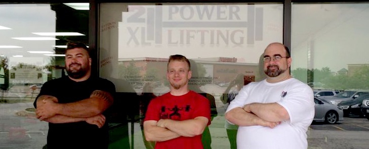 3 Partners Open 2XL Powerlifting Gym