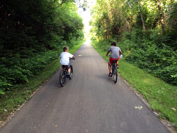 blaine bike ride bryce playground 090414