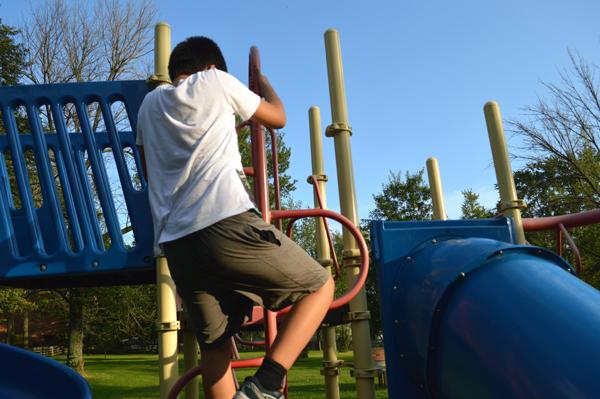 blaine climbing playground 090514