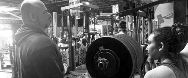 Matt Holmes' Journey of a Warehouse Gym