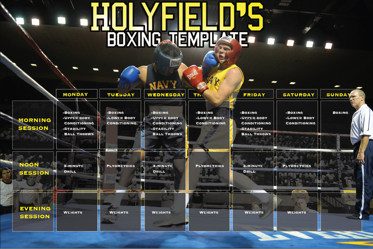 How Fred Hatfield Overhauled Evander Holyfield's Training