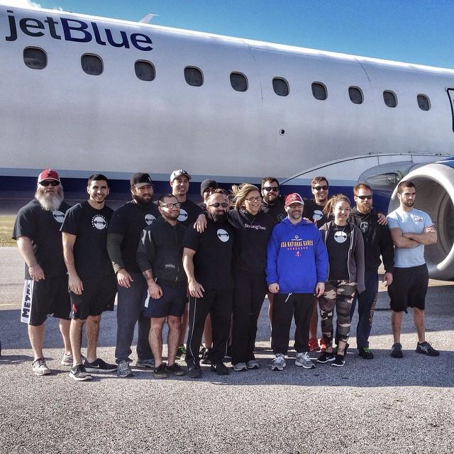 Orlando Barbell Pulls A Plane!