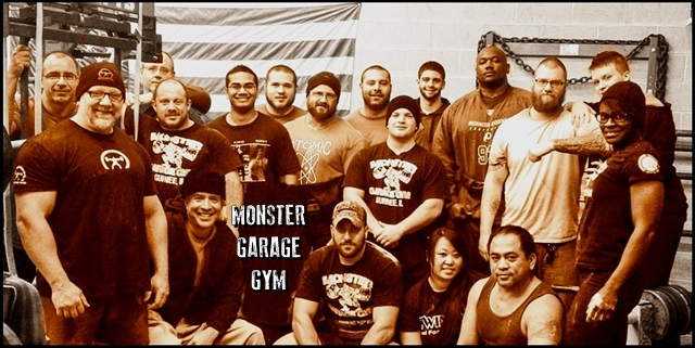 Welcome to the first coaches log for the monster garage gym