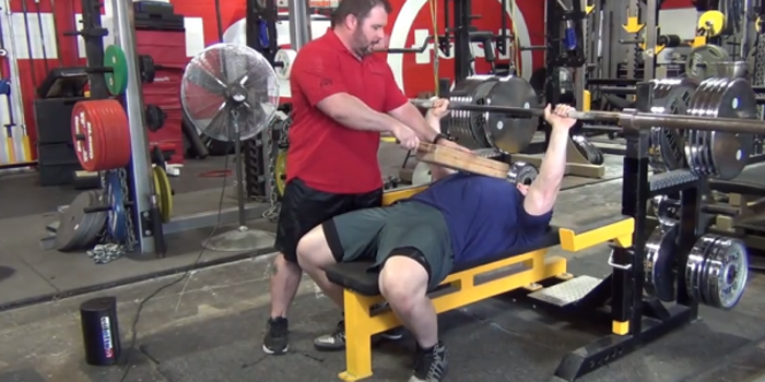 How to Bench 225 for 40 reps