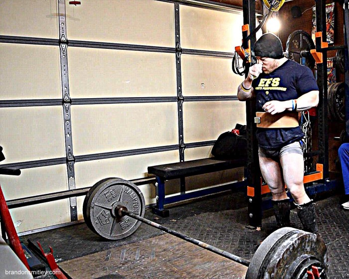 Valentine's Day - Roses and Chocolate?...More Like Deadlifts and Nose Tork (w/VIDEO)