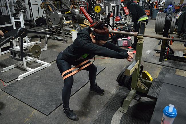 Christine Banded External Hip Rotation