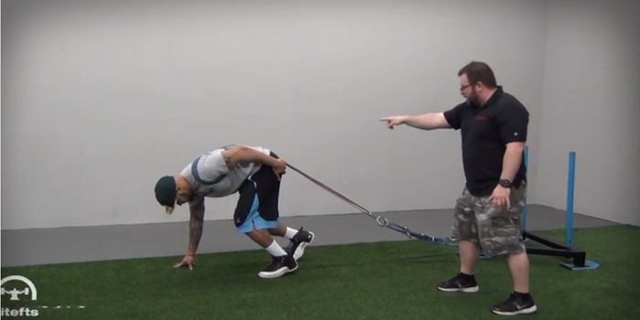 WATCH: Resisted Sprints with the Prowler