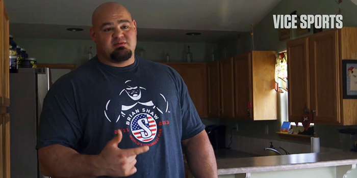 VICE Sports Documentary Reveals Life Of The Worlds Strongest Man