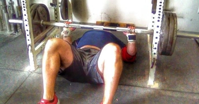 Bench and Forearm Strength with Fat Bar