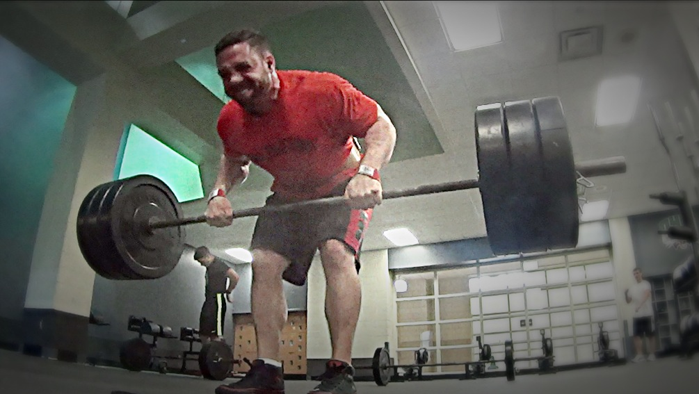 BANDED BENT BARBELL ROW