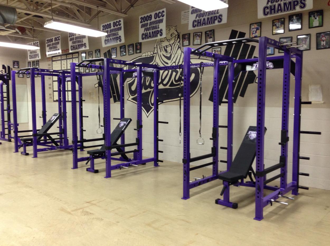 pickerington high school weightroom