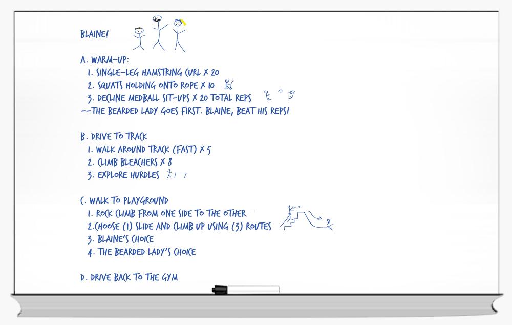 Whiteboard Blaine