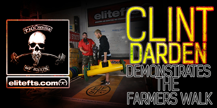 WATCH: Clint Darden Coaches How to Shave Seconds Off the Farmer's Walk