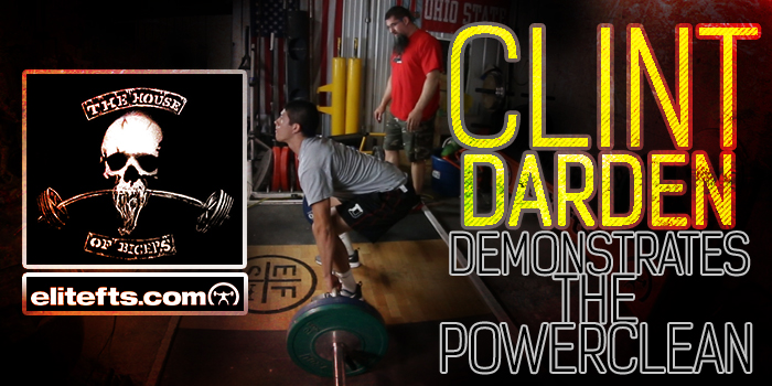 WATCH: Clint Darden Shows How to Teach and Use the Clean for Athletes