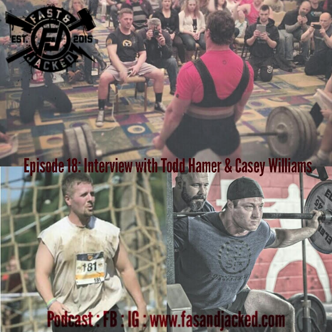 Fast and Jacked: Todd Hamer and Casey Williams