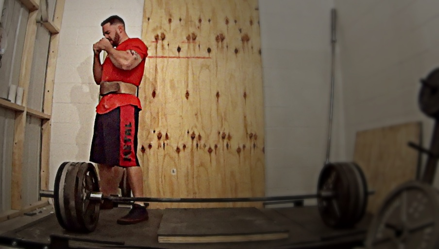 Video: 405 for Max Reps in 70 seconds (Got Some Work to Do)