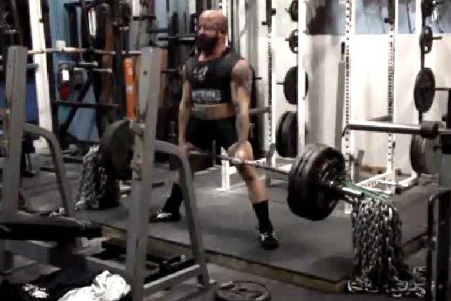 10/26- Single Ply Deadlift w/videos, 5 Weeks out from the APF Gulf Coast Winter Bash