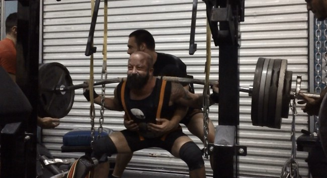 10/23- Single Ply Squats in the Metal M w/video, 6 Weeks out from the APF Gulf Coast Winter Bash