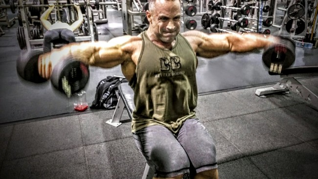 Build Big Arms With Hany Rambod S Fst 7 Workout