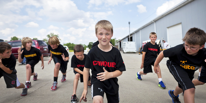 Speed and Conditioning for the Youth Athlete