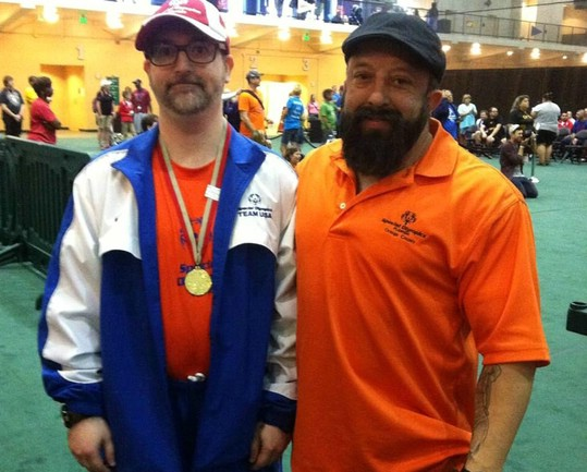 CJ Piantieri competing at the Special Olympics Florida State Games