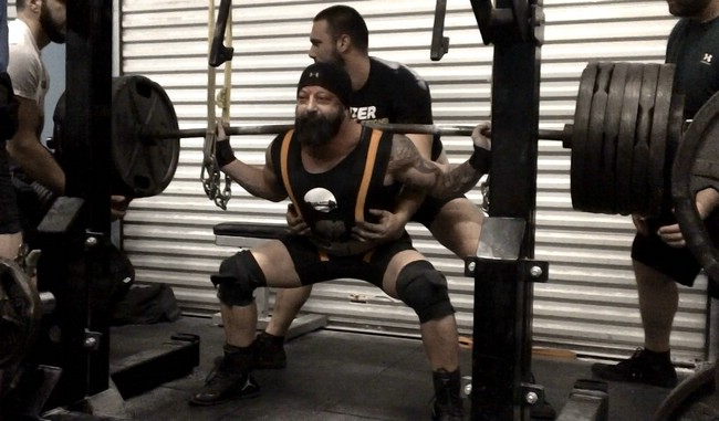 11/12- Single Ply Squats w/team video of our openers, 3 Weeks out from the APF Gulf Coast Winter Bash