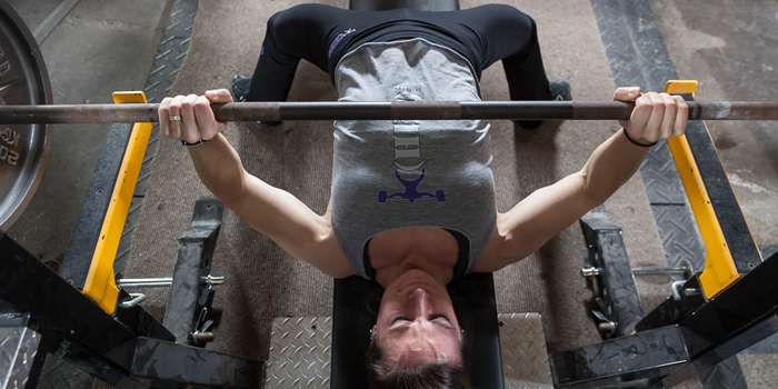 Strong(her) Bench Press Progressions for the Novice Female Lifter