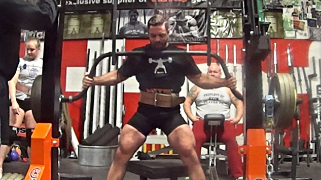 VIDEO: More Power Cleans & Adding an AMRAP Set to Cambered Bar Box Squat
