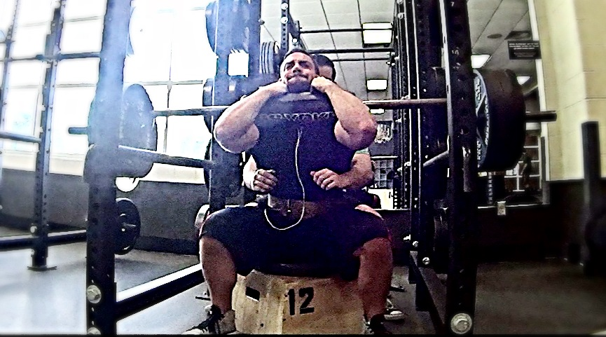 Start of New Training Schedule! ..SSB Pause Front Squats up to 360lbs