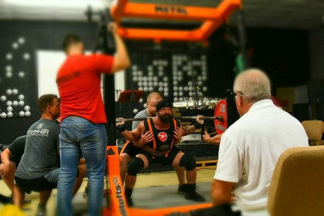 12/10- Raw Parallel Box Squats and Sara using the Home GHR w/videos