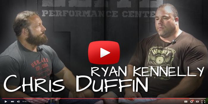 WATCH: Chris Duffin Interviews Ryan 'Bench Monster' Kennelly