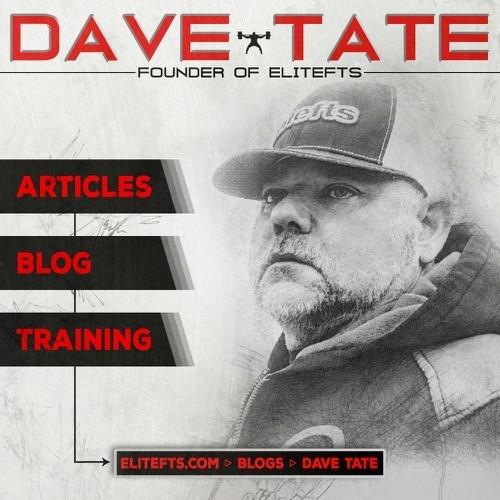 Dave Tate Blog