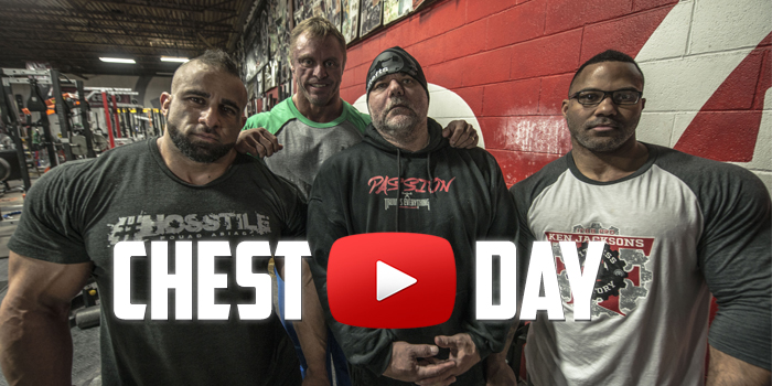 WATCH: IFBB Pro Chest Day with Meadows, Jackson, and Abiad