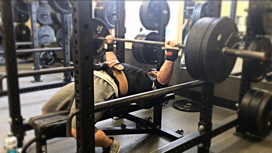 Starting to Focus on Competition Bench Consistently Again / Week 1 - Day 3 (Primary Bench Day: 5s Week)